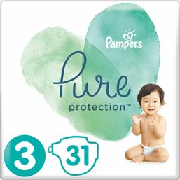 Pampers Pure Protection No 3 (6-10Kg) 31τμχ από το Pharm24